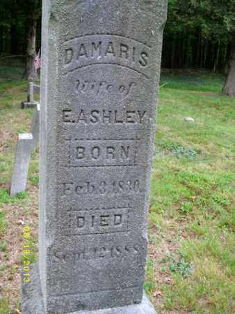 ASHLEY, DAMARIS - Tioga County, Pennsylvania | DAMARIS ASHLEY - Pennsylvania Gravestone Photos