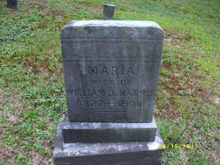 HARRIS, MARIA - Tioga County, Pennsylvania | MARIA HARRIS - Pennsylvania Gravestone Photos