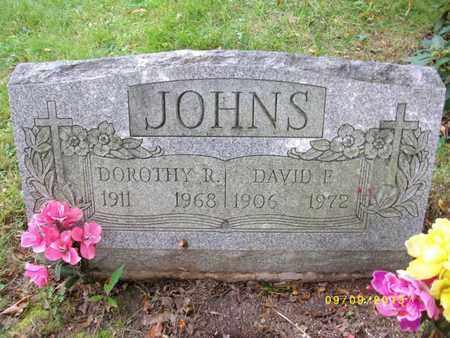 HORTON JOHNS, DOROTHY - Tioga County, Pennsylvania | DOROTHY HORTON JOHNS - Pennsylvania Gravestone Photos