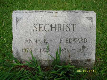 SECHRIST, ANNA EVELYN - Tioga County, Pennsylvania | ANNA EVELYN SECHRIST - Pennsylvania Gravestone Photos