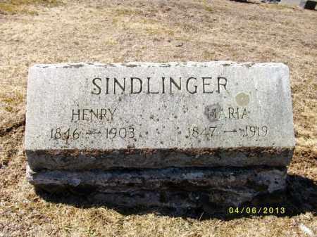 SINDLINGER, HENRY - Tioga County, Pennsylvania | HENRY SINDLINGER - Pennsylvania Gravestone Photos