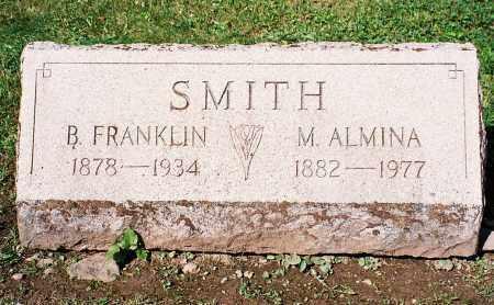 SMITH, BENJAMIN FRANKLIN - Tioga County, Pennsylvania | BENJAMIN FRANKLIN SMITH - Pennsylvania Gravestone Photos