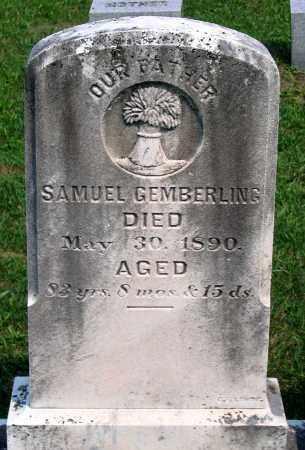 GEMBERLING, SAMUEL - Union County, Pennsylvania | SAMUEL GEMBERLING - Pennsylvania Gravestone Photos