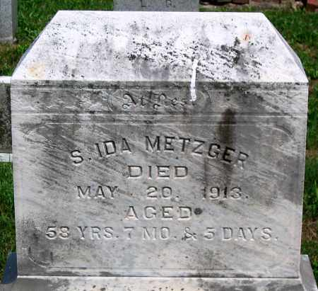 METZGER, S. IDA - Union County, Pennsylvania | S. IDA METZGER - Pennsylvania Gravestone Photos