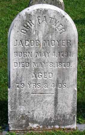 MOYER, JACOB - Union County, Pennsylvania   JACOB MOYER - Pennsylvania Gravestone Photos
