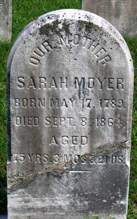 MOYER, SARAH - Union County, Pennsylvania   SARAH MOYER - Pennsylvania Gravestone Photos