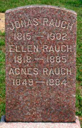 RAUCH, JONAS - Union County, Pennsylvania | JONAS RAUCH - Pennsylvania Gravestone Photos
