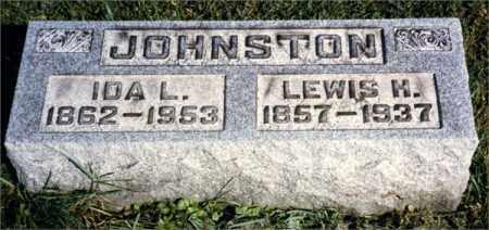 JOHNSTON, LEWIS HENRY - Venango County, Pennsylvania | LEWIS HENRY JOHNSTON - Pennsylvania Gravestone Photos