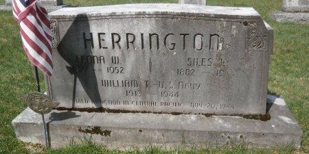 HERRINGTON, WILLIAM - Warren County, Pennsylvania | WILLIAM HERRINGTON - Pennsylvania Gravestone Photos