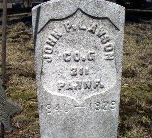 LAWSON (CW), JOHN P. - Warren County, Pennsylvania | JOHN P. LAWSON (CW) - Pennsylvania Gravestone Photos