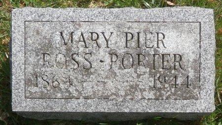 PORTER, MARY - Warren County, Pennsylvania | MARY PORTER - Pennsylvania Gravestone Photos
