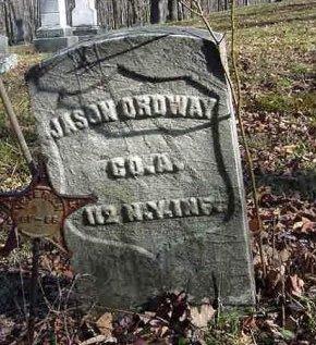 ORDWAY (ORDIWAY) (CW), JASON - Warren County, Pennsylvania   JASON ORDWAY (ORDIWAY) (CW) - Pennsylvania Gravestone Photos