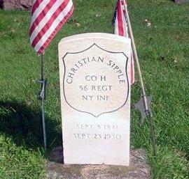 SIPPLE (CW), CHRISTIAN - Warren County, Pennsylvania   CHRISTIAN SIPPLE (CW) - Pennsylvania Gravestone Photos