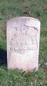 WILSON (CW), WILLIAM W. - Warren County, Pennsylvania   WILLIAM W. WILSON (CW) - Pennsylvania Gravestone Photos