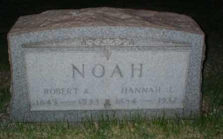NOAH, ROBERT A - Washington County, Pennsylvania | ROBERT A NOAH - Pennsylvania Gravestone Photos