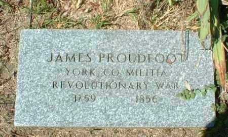 PROUDFOOT, JAMES - Washington County, Pennsylvania | JAMES PROUDFOOT - Pennsylvania Gravestone Photos