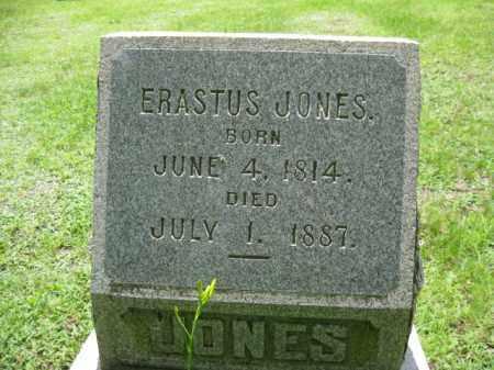 JONES, ERASTUS - Wayne County, Pennsylvania | ERASTUS JONES - Pennsylvania Gravestone Photos