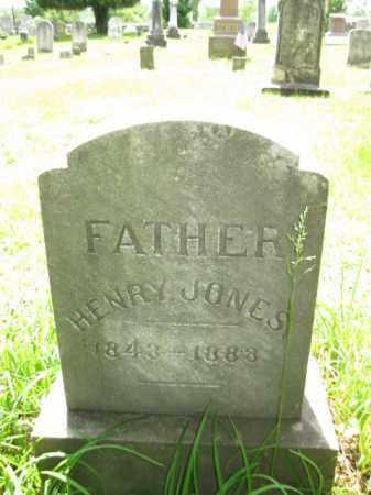 JONES, HENRY - Wayne County, Pennsylvania | HENRY JONES - Pennsylvania Gravestone Photos