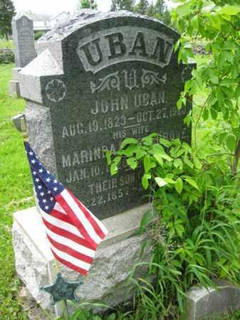 UBAN (CW), JOHN - Wayne County, Pennsylvania | JOHN UBAN (CW) - Pennsylvania Gravestone Photos