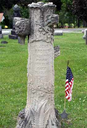 ANDREWS (CW), JOHN G. - Westmoreland County, Pennsylvania | JOHN G. ANDREWS (CW) - Pennsylvania Gravestone Photos