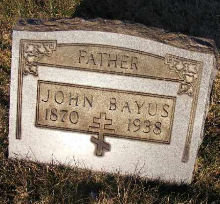 BAYUS, JOHN - Westmoreland County, Pennsylvania   JOHN BAYUS - Pennsylvania Gravestone Photos