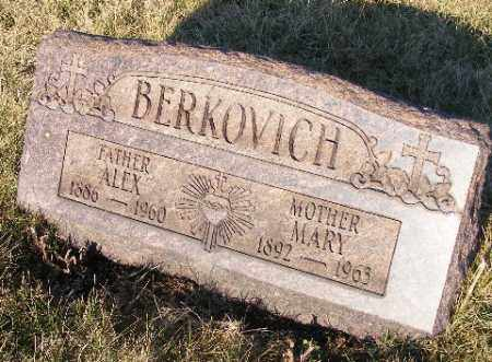 BERKOVICH, MARY - Westmoreland County, Pennsylvania | MARY BERKOVICH - Pennsylvania Gravestone Photos