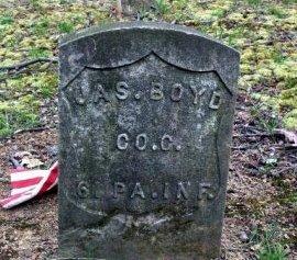 BOYD (CW), JAMES - Westmoreland County, Pennsylvania   JAMES BOYD (CW) - Pennsylvania Gravestone Photos