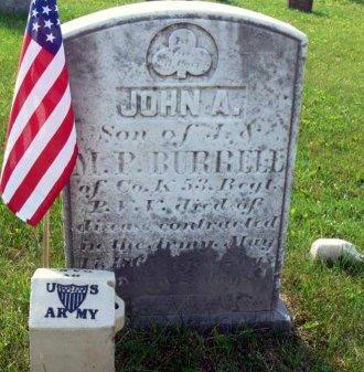 BURRELL (CW), JOHN A. - Westmoreland County, Pennsylvania   JOHN A. BURRELL (CW) - Pennsylvania Gravestone Photos