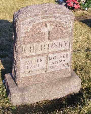 CHERTISKY, PAUL - Westmoreland County, Pennsylvania | PAUL CHERTISKY - Pennsylvania Gravestone Photos