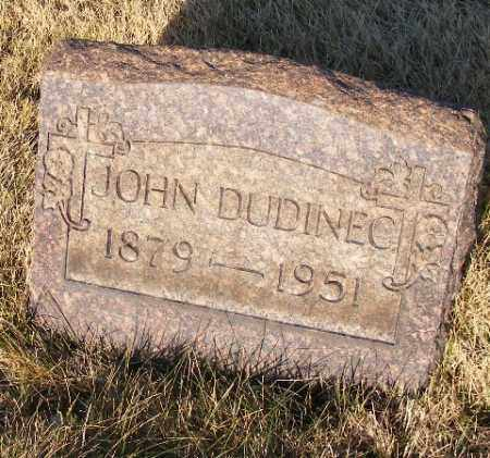 DUDINEC, JOHN - Westmoreland County, Pennsylvania   JOHN DUDINEC - Pennsylvania Gravestone Photos