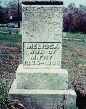 MENOHER FRY, MELISSA - Westmoreland County, Pennsylvania | MELISSA MENOHER FRY - Pennsylvania Gravestone Photos