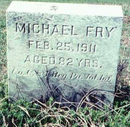 FRY, MICHAEL - Westmoreland County, Pennsylvania | MICHAEL FRY - Pennsylvania Gravestone Photos
