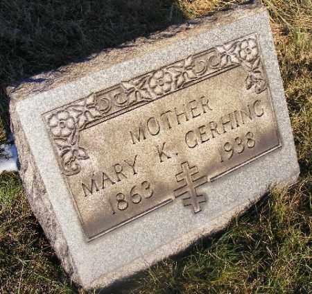 GERHING, MARY K - Westmoreland County, Pennsylvania | MARY K GERHING - Pennsylvania Gravestone Photos