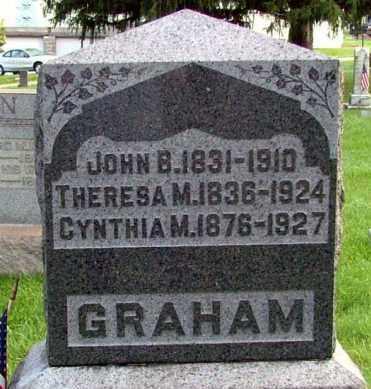GRAHAM(CW), JOHN B. - Westmoreland County, Pennsylvania | JOHN B. GRAHAM(CW) - Pennsylvania Gravestone Photos