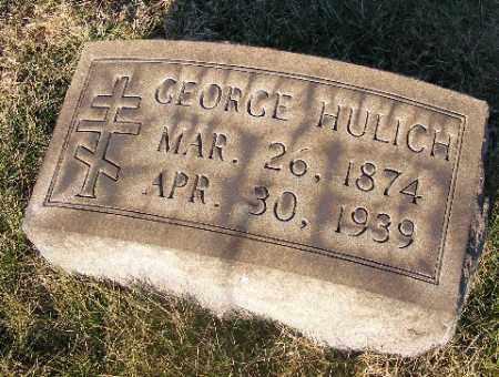 HULICH, GEORGE - Westmoreland County, Pennsylvania | GEORGE HULICH - Pennsylvania Gravestone Photos