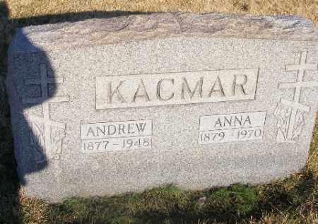 KACMAR, ANDREW - Westmoreland County, Pennsylvania | ANDREW KACMAR - Pennsylvania Gravestone Photos