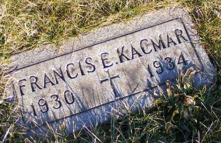 KACMAR, FRANCIS E - Westmoreland County, Pennsylvania   FRANCIS E KACMAR - Pennsylvania Gravestone Photos