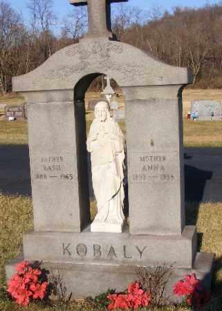 KOBALY, ANNA - Westmoreland County, Pennsylvania | ANNA KOBALY - Pennsylvania Gravestone Photos
