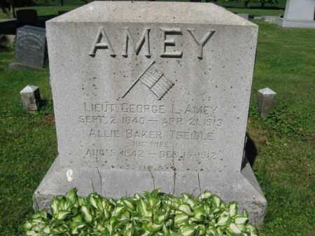 AMEY (CW), GEORGE L. - Wyoming County, Pennsylvania   GEORGE L. AMEY (CW) - Pennsylvania Gravestone Photos