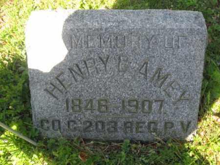 AMEY (CW), HENRY C. - Wyoming County, Pennsylvania | HENRY C. AMEY (CW) - Pennsylvania Gravestone Photos