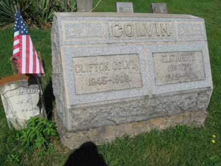 COLVIN (CW), CLIFTON - Wyoming County, Pennsylvania | CLIFTON COLVIN (CW) - Pennsylvania Gravestone Photos