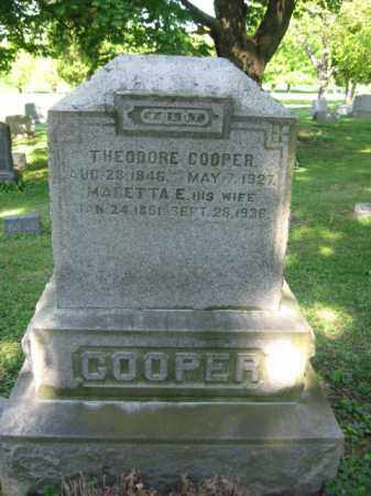 COOPER (CW), THEORDORE - Wyoming County, Pennsylvania | THEORDORE COOPER (CW) - Pennsylvania Gravestone Photos