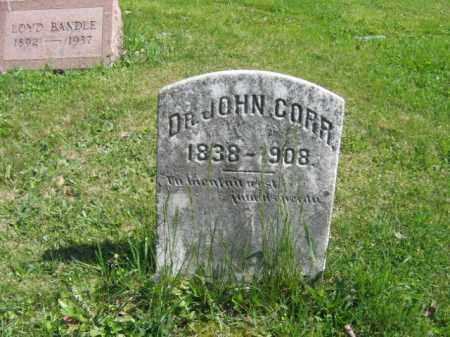 CORR, DR.JOHN - Wyoming County, Pennsylvania | DR.JOHN CORR - Pennsylvania Gravestone Photos
