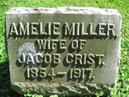 MILLER CRIST, AMELIE - Wyoming County, Pennsylvania | AMELIE MILLER CRIST - Pennsylvania Gravestone Photos