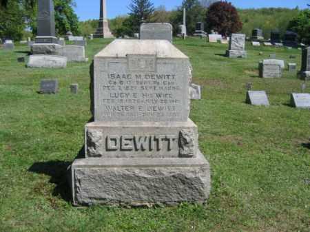 DEWITT (CW), ISAAC M. - Wyoming County, Pennsylvania | ISAAC M. DEWITT (CW) - Pennsylvania Gravestone Photos