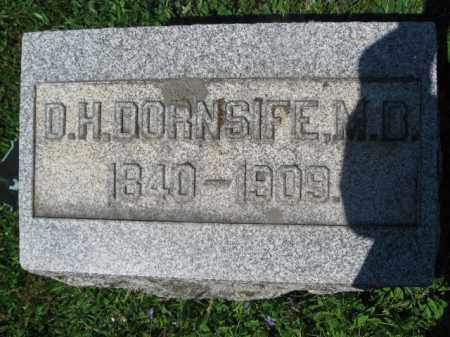 DORNSIFE, D.H. - Wyoming County, Pennsylvania   D.H. DORNSIFE - Pennsylvania Gravestone Photos