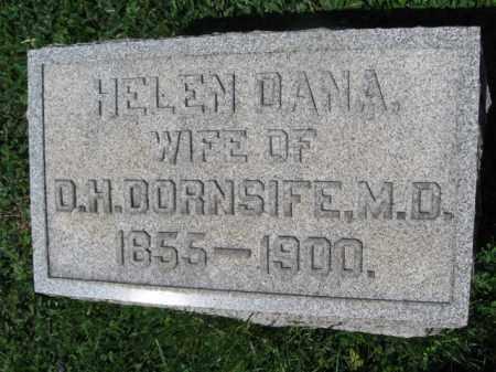 DANA DORNSIFE, HELEN - Wyoming County, Pennsylvania | HELEN DANA DORNSIFE - Pennsylvania Gravestone Photos