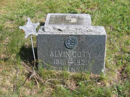 DOTY (CW), ALVIN A. - Wyoming County, Pennsylvania | ALVIN A. DOTY (CW) - Pennsylvania Gravestone Photos