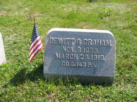 GRAHAM (CW), SERGT.DEWITT C. - Wyoming County, Pennsylvania | SERGT.DEWITT C. GRAHAM (CW) - Pennsylvania Gravestone Photos