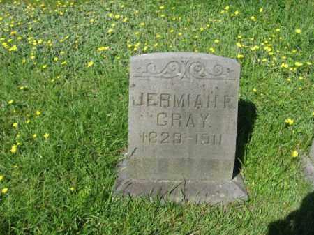 GRAY, JERMIAH F. - Wyoming County, Pennsylvania   JERMIAH F. GRAY - Pennsylvania Gravestone Photos